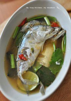 Thai Recipes, Fish Recipes, Asian Recipes, Cooking Recipes, Healthy Recipes, Red Curry Recipe, Authentic Thai Food, Tasty Thai, Thai Street Food