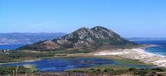 Monte Louro y laguna. Muros. Galicia.