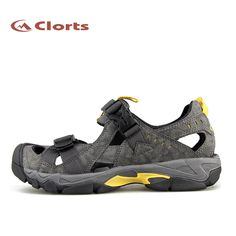 ee3a3eb7a88d Clorts Men Pu Sandals Quick Dry Shoes-SD-206C Backpacking Boots