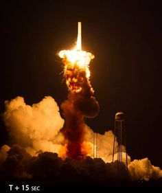 Orbital Sciences Corporation Antares rocket Orb-3 CRS-3 Commercial Resupply Services 3 NASA Wallops Flight Facility Mid-Atlantic Regional Spaceport Pad-0A Photo Credit JD Taylor SpaceFlight Insider.jpg