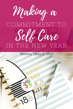 Making a commitment to self care in the new year. 2018 will be a year of focusing more on my own needs.