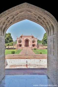 インド India  Baby Taj  Tomb of I'timād-ud-Daulah