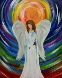 20 Features Of Easy Acrylic Painting Ideas For Beginners Angels That Make Everyone Love It Christmas Paintings On Canvas, Simple Canvas Paintings, Christmas Canvas, Art Paintings, Canvas Art, Angel Paintings, Painted Canvas, Portrait Paintings, Canvas Ideas