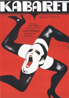 polish poster for the film 'cabaret' #germany #movies #cabaret