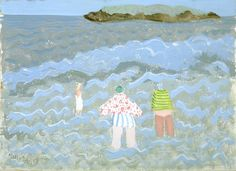 Figures by the Sea