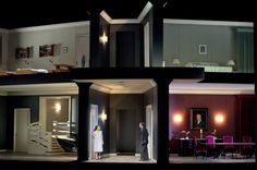 Pelléas et Mélisande from Oper Frankfurt. Production by Claus Guth. Sets and costumes by Christian Schmidt.