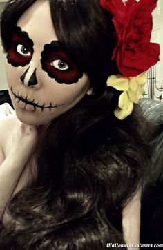 sugar skull makeup for Halloween - Halloween Costumes 2013