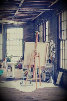 Would love to have my own art studio some day!! :)