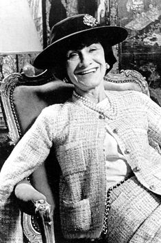 Coco Chanel, 1945
