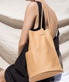 Are Studio Sand Barrel Tote