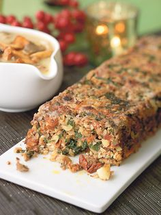 The Bikers' nut roast is so good that it can make a carnivore turn