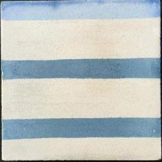 Blue Risco Tile   Bert & May