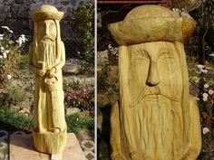 Ručne vyrezávané sochy do vašej záhradky...