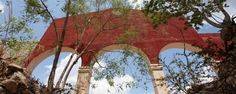 These arches were found at a hacienda... now if only I could remember which one! Read more about haciendas here http://www.yucatanliving.com/destinations/yucatan-haciendas.htm