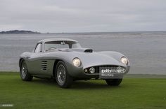 Ferrari 375 MM Scaglietti Coupe, owned by Jon Shirley, is displayed for photographs after being awarded Best of Show at the conclusion of the 2014 Pebble Beach Concours d'Elegance in Pebble Beach, California, U.S., on Sunday, Aug. 17, 2014. The annual event, now in its 64th year, raised a record $301.9 million in 2013, the highest total for a series of classic car auctions anywhere in the world. Photographer: David Paul Morris/Bloomberg via Getty Images