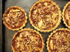 Caramel Apple Pecan Tarts | 28 Ways To Eat Apples This Fall