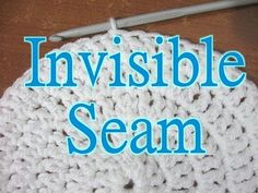 Share this:  This Free Crochet pattern teaches how to work in the round without leaving that big hole at the end of a round. Please enjoy this Invisible Seam Crochet pattern and tutorial!   Find more crochet stitches here on the category Crochet Stitches.    The Invisible Seam – Free Crochet Pattern This page contains affiliate …