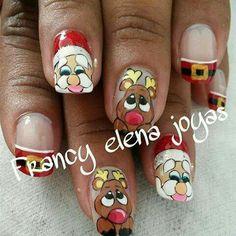 Nails, Beauty, Christmas Nails, Fingernail Designs, Finger Nails, Ongles, Nail, Beauty Illustration, Manicures