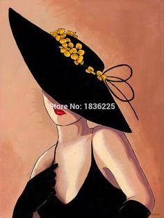 Ucuz Ücretsiz kargo Kadın Şapka of el boyalı Portre tuval üzerine yağlıboya soyut Portre yağlıboya tablolar sanat, Satın Kalite resim ve hat sanatı doğrudan Çin Tedarikçilerden: Sıcak haber:Biz destek özelleştirebilirsiniz resim ve herhangi bir boyut, sormak için bekliyoruz fiyat.  &nb