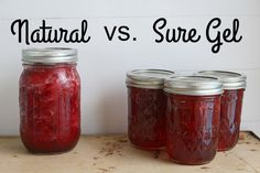 natural vs. sure gel jam - Binks & the Bad Housewife