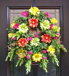 Springtime by LuxeWreath...Etsy