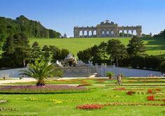 Vienna, Austria Schonbrunn Palace gardens.  Memmories of my Grandfather