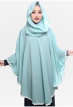 79a73617820 Wanita   Baju Muslim   Hijab   Jilbab Instan   Zelena Hoodie Anaya Florist  - Crystal