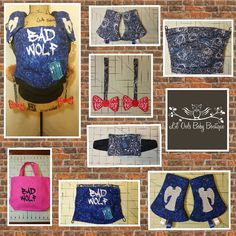 Doctor who Tula accessories