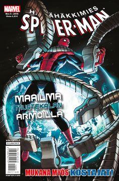 Hämähäkkimies - Spider-Man nro 5/2014. #sarjakuva #sarjakuvalehti #sarjis #egmont #marvel