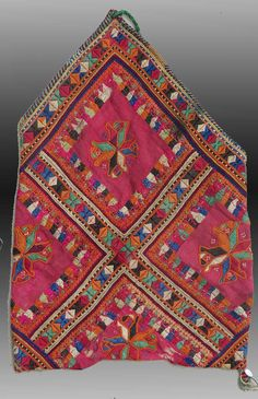VINTAGE EMBROIDERY  BALUCH Embroidered by tcEclecticImages on Etsy
