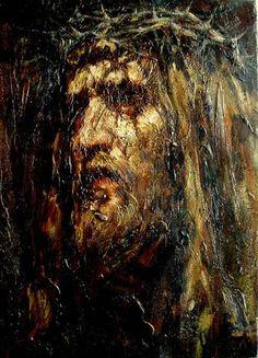 """Before Calvary"" 66х48 cm, oil on canvas, 2013  Anatoly Shumkin"