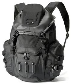 """The bathroom sink backpack by Oakley is well suited for any excursion with sturdy hardware attachments and abrasion resistant fabric. Specialized pockets inside and out keep gear stored securely and separately, including a padded laptop sleeve that accommodates most 13"""" devices. A padded back and adjustable mesh-lined shoulder straps keep you comfortable & cool when hauling over any distance.  #blackbag #Army #USArmy #USAF #Navy #Marines #CoastGuard #Marinecorps #Airforce Oakley Backpack, Black Bathroom Sink, Princess Coloring Pages, Backpack Brands, Slim Wallet, Coast Guard, Marine Corps, Laptop Sleeves, Black Bags"""