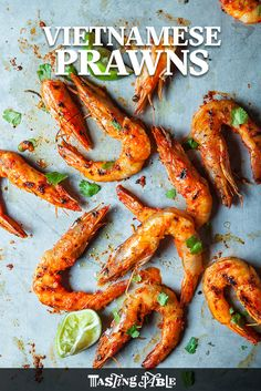 Learn how to make chef Bryant Ng's spicy Vietnamese grilled prawns.