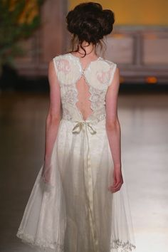 Claire Pettibone 'Jewel' wedding dress - Fall 2016 #TheGildedAge Collection http://couture.clairepettibone.com/collections/the-gilded-age/products/jewel