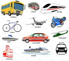 Try and remember these words, then try out our transport vocabulary quiz!