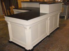 L shaped cash wrap counter or desk by jamesrobinson on Etsy 6445
