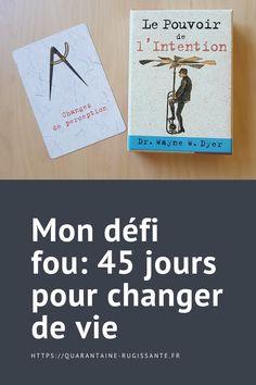 Je vais vous expliquer pourquoi j'ai 45 jours pour changer de vie. Cover, Books, I Don't Care, Libros, Book, Book Illustrations, Libri