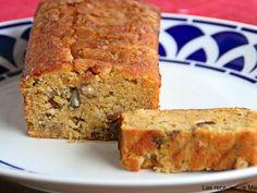 Receta Postre : Pan de frutos secos y calabaza por Lasrecetasdemasero