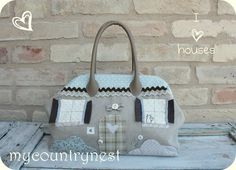 My country nest: Tapestry bag-casetta e collana con fiori: la mia mise per Vicenza!
