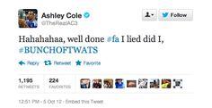 Ashley Cole just gone up in my opinion