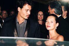 En 1998 Johnny Depp acudía a Cannes a promocionar su película Miedo y asco en Las Vegas. Le acompañaba su novia, la modelo Kate Moss.