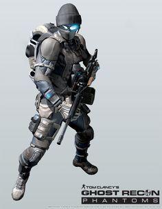 ArtStation - Ghost Recon Phantom-Support Class, Khan SevenFrames