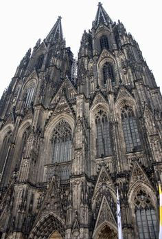 Cologne Cathedral, Germany. It is the second-highest cathedral in Germany and the third-highest in the world. It was built in Gothic style from 1248 and finished in 1880.The cathedral is a UNSECO World Heritage Site since 1996 and is the most popular sight in Germany with six million visitors as of 2006. http://whc.unesco.org/en/list/292/gallery/
