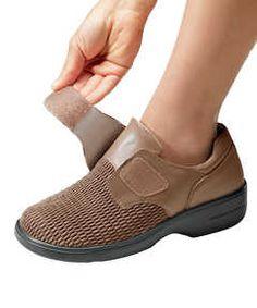 Womens Shoes Black Bootie Style Velcro Closure Propet Size 11 M b