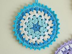 granny square potholder - who wants to make me some?