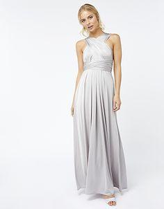 9c6cfb17 Garland Maxi Dress | Monsoon London fair trade evening gowns Silver  Garland, Monsoon Bridesmaid Dresses
