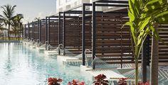 HOTEL FINEST PLAYA MUJERES BY EXCELLENCE GROUP Hidro Balear planificó y construyó todas las piscinas, áreas de Spa, parque acuático y fuentes del recientemente inaugurado complejo turístico.      Complejo turístico se encuentra junto al océano, al lado de una playa privada de arena blanca, en Playa Mujeres (Cancún)