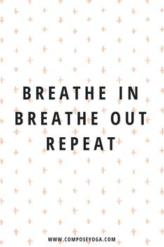A mindful breath a day keeps the stress away! One-minute video - follow along! | Compose Yoga | #selfcare #selflove #mindfulbreathing #breathe #meditation #yoga