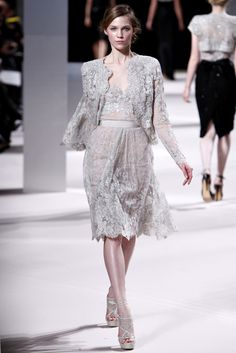 Haute Couture silver Dresses | Elie Saab Spring Summer 2011 Couture Dresses14 - Best dress styles ...