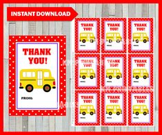 OFF School Bus Driver Teacher Appreciation Gift Tag Bus Driver Appreciation, Teacher Appreciation Cards, Teacher Gifts, Valentines For Kids, Valentine Day Cards, School Bus Driver, Thank You Tags, Letter Size Paper, Gift Tags